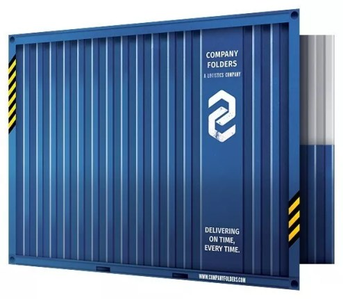 shipping-container-presentation-folder-template-front-open