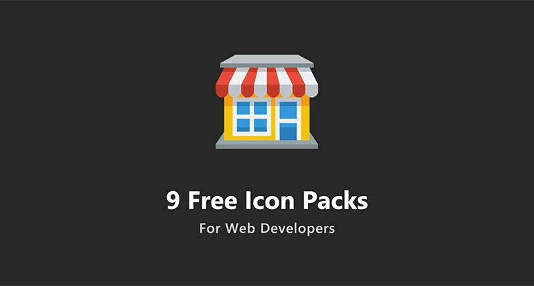9 free icon packs - 9 Free Icon Packs For Web Developers