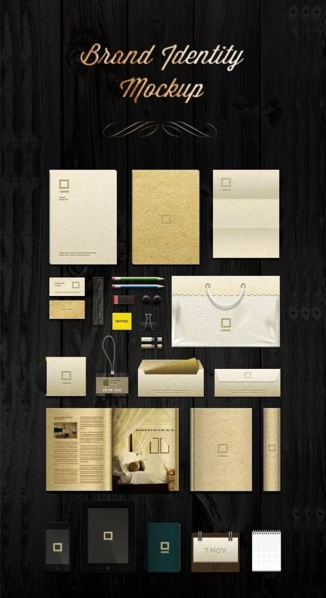 Corporate Identity Template MockUp 559x1024 - 60+ Branding, Identity & Stationery Free PSD Mockups