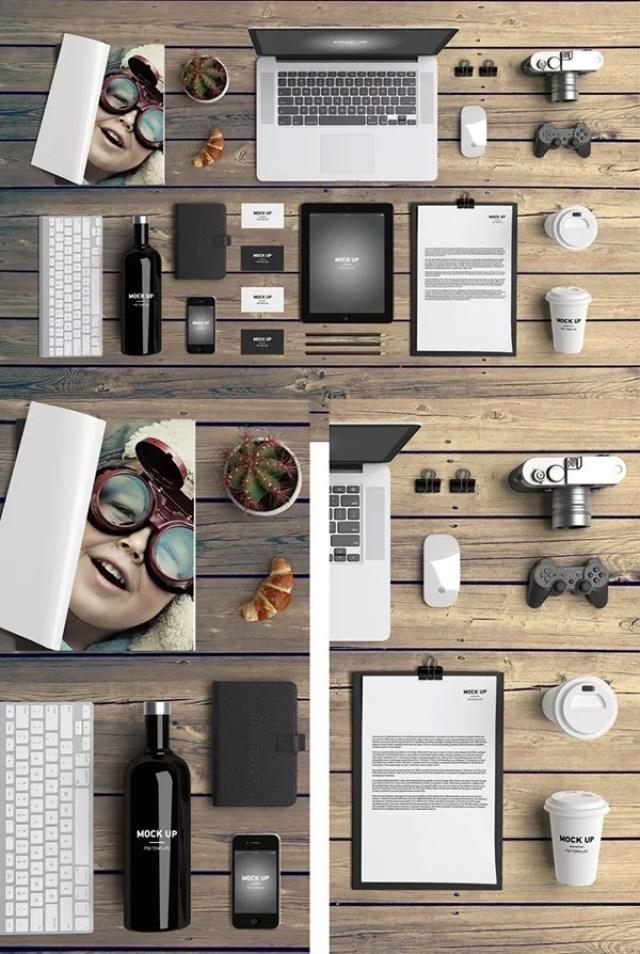 FREE Branding Mock Up - 60+ Branding, Identity & Stationery Free PSD Mockups