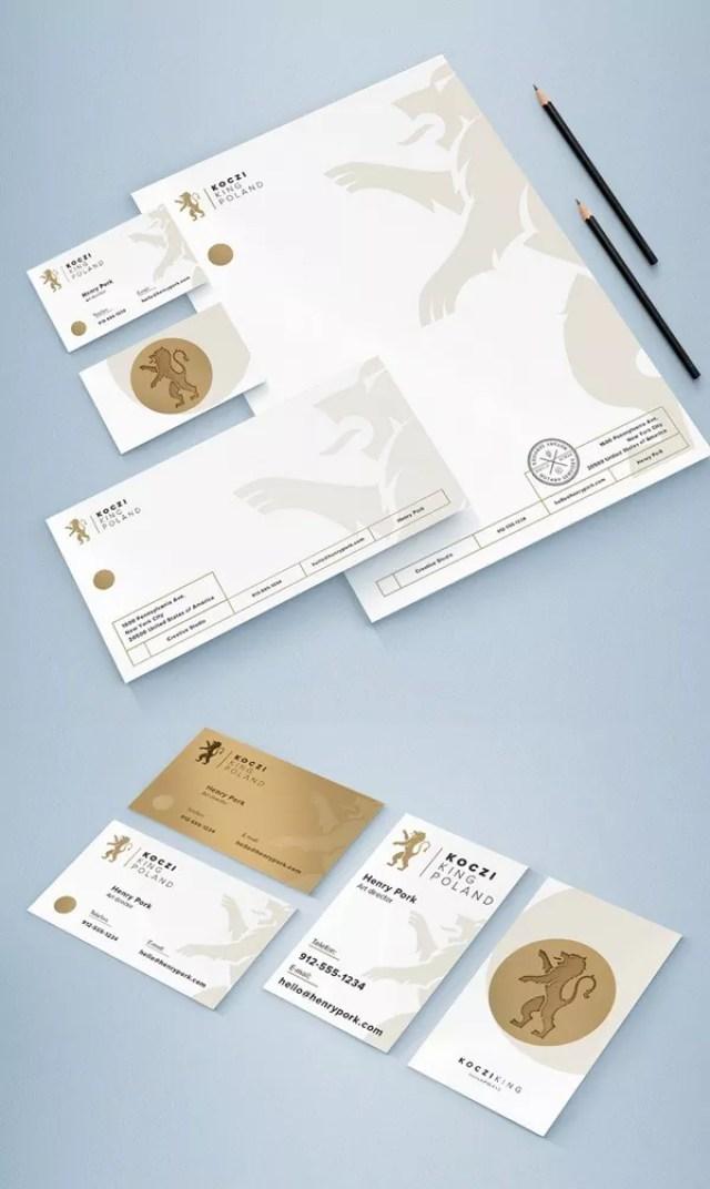 Free Stationary Mockup Set - 60+ Branding, Identity & Stationery Free PSD Mockups
