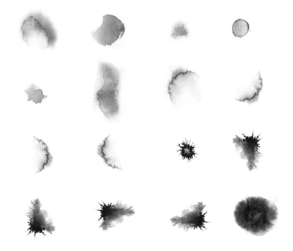 Watercolor Brushes 1024x876 - Free Ink and Watercolor Brushes for Photoshop