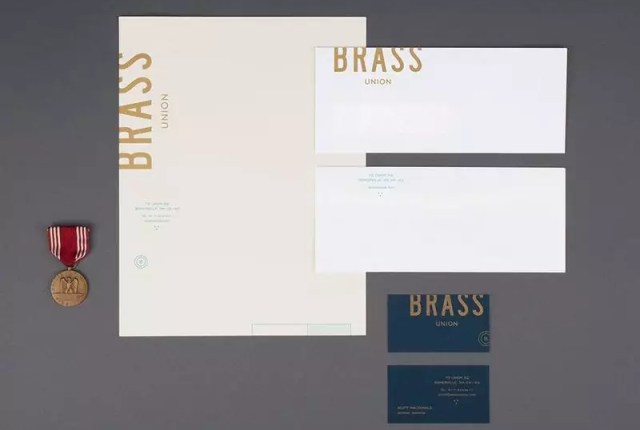 brass 2 - 32 Beautiful Envelope Design Examples for Inspiration