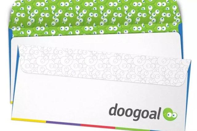 envelope doogoal 2 - 32 Beautiful Envelope Design Examples for Inspiration