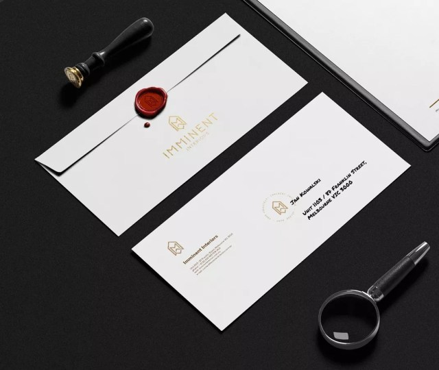 http thomsoon com wp content uploads imminent in 2 - 32 Beautiful Envelope Design Examples for Inspiration