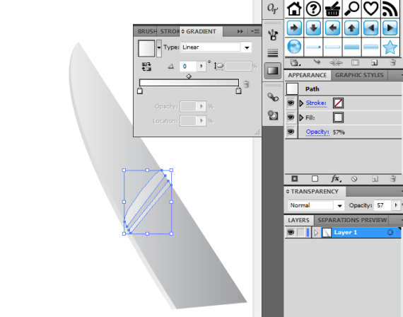 T81 05 - Creating your Very Own Knife Vector Icon in Illustrator