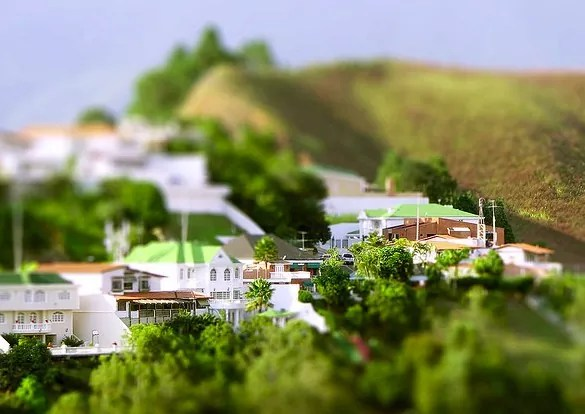 los angeles mini photo - 30+ Awesome Examples of Tilt-Shift Photography