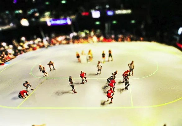 roller tiltshift photo - 30+ Awesome Examples of Tilt-Shift Photography