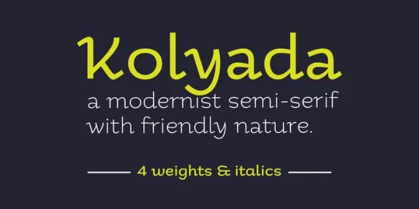 6. font for designers 600x300 - 20 Gorgeous Fonts Which Are Perfect For Designers