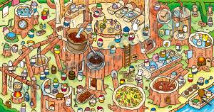 樹の家/まちがい絵さがしYOU 5月号(英和出版社)