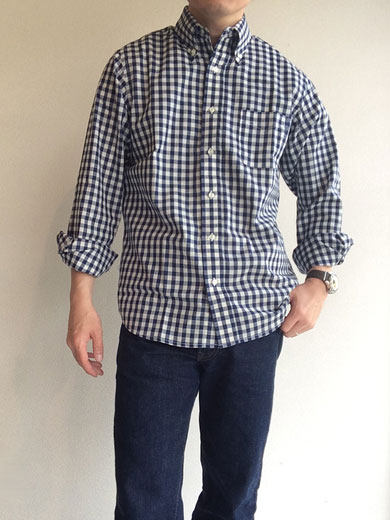Light Modified BD,Light Chambray, Gingham/Workers