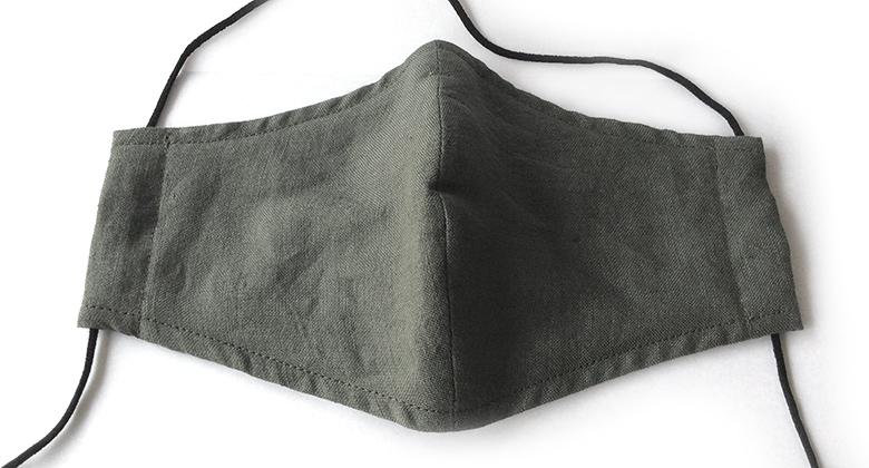 抗菌防臭の洗える布マスク