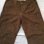 フレンチファーマーズパンツ french farmers pants 硫化brown