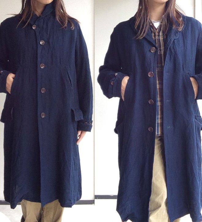 victorians shawlcollar heavylinen coat djangoatour