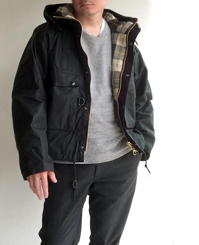 Field Short Hoody Jacket Barbour