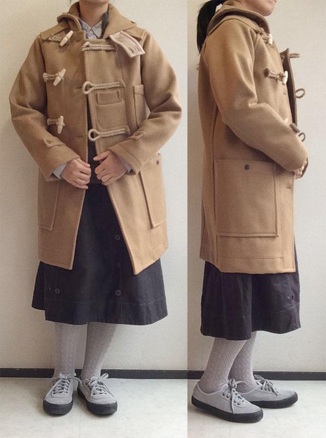 tatamizeのダッフルコート