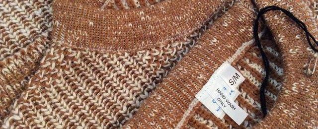 英国製ニットセーター
