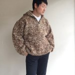 1990's Ecuadorian Hand Knit Parka Light Brown