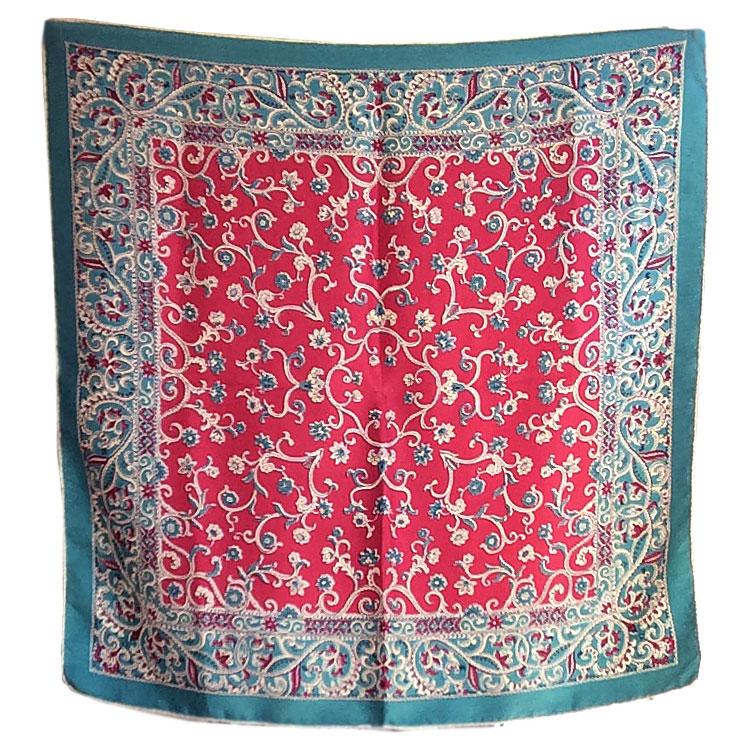 French Silk Scarf