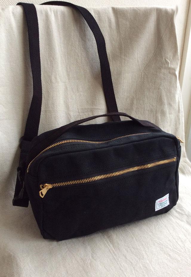 ショルダーバッグ ブラック Shoulder Bag Black/Workers