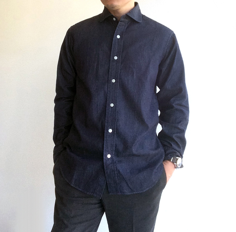 Round Cutaway Shirt Workers商品画像