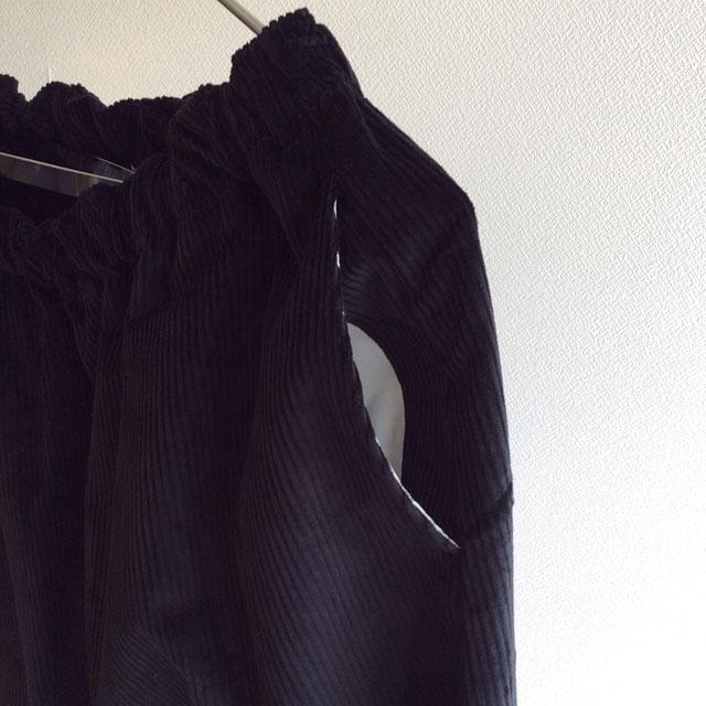 Easy Quarter Pants Black Yarmo