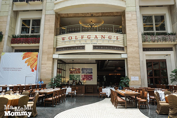 Wolfgang's Steakhouse in Manila