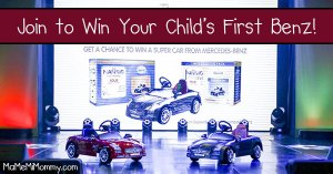 Join to Win Your Child's First Benz