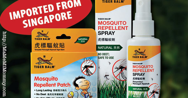 Keep Safe Against Zika and Dengue with Tiger Balm