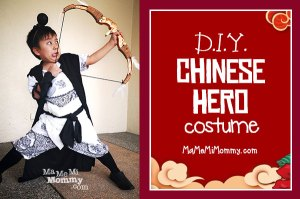 Easy DIY Chinese Hero Costume