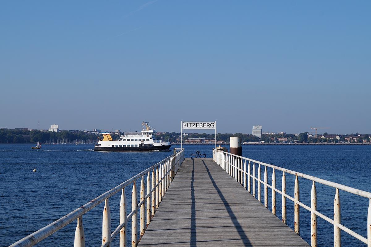 Dampfbrücke in Kiel