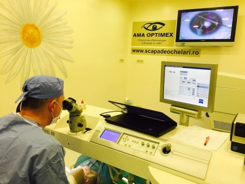 Am Optimex - sala de operatii - Dr. Andrei Filip