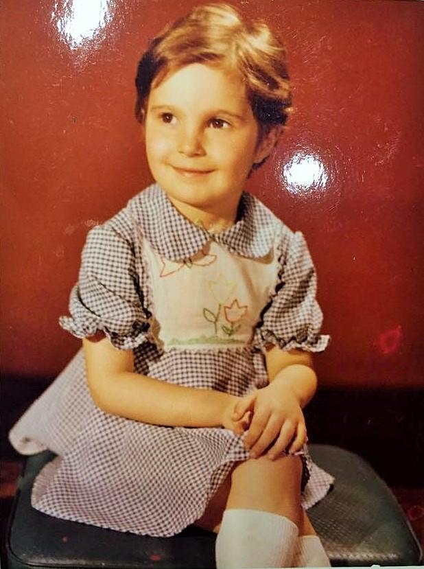 Eu, la 5 ani