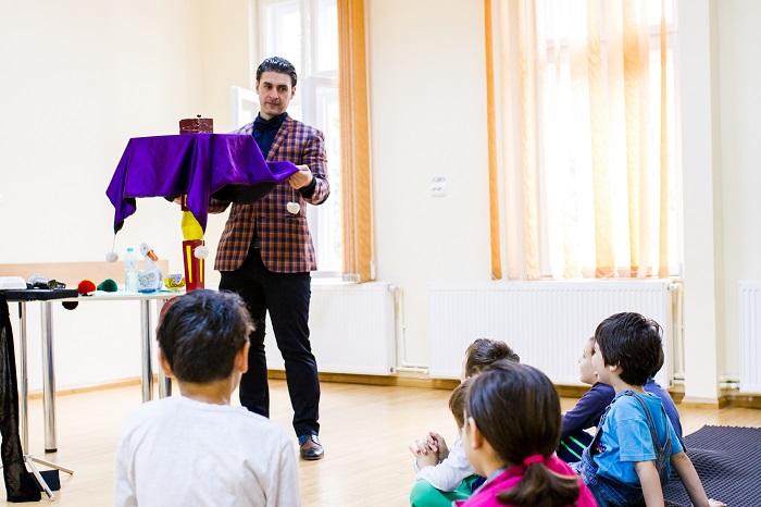 Bogdan Muntean, magician