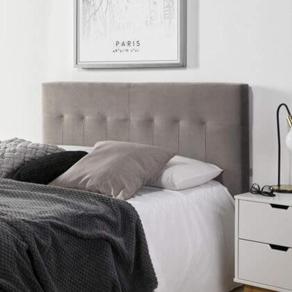 tête de lit en velours
