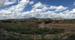Sur le chemin du retour de Santa Fe
