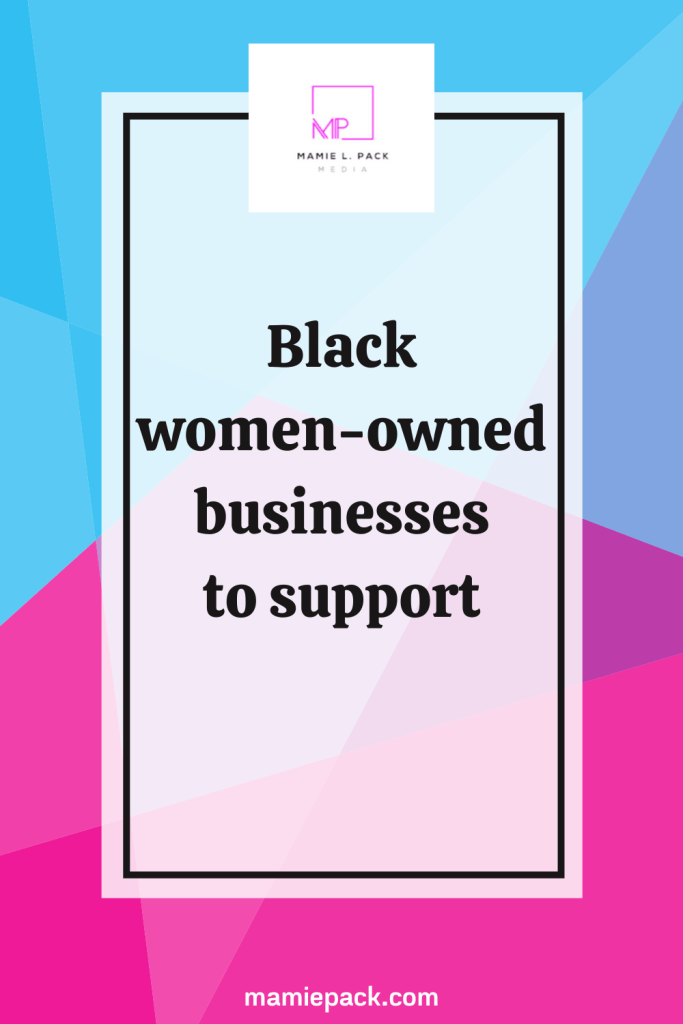 Black women-owned businesses