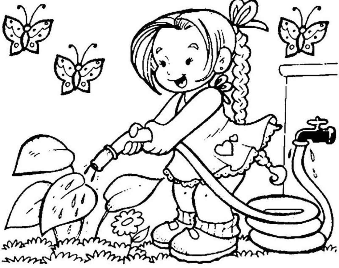 exercise coloring pages for kids 6 jpg