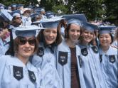Graduación de la primera generación de MA de la Escuela de Periodismo de Columbia Mayo 2006.