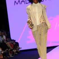 La firma italiana Maliparmi presentó una colección con un estilo muy resort durante la Miami Fashion Week 2014.