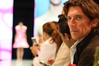 Colate, conocido en México por ser el padre del hijo de la cantante Paulina Rubio, fue una de las figuras que estuvieron presentes durante el evento.