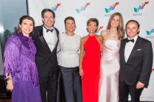 Patricia Janiot, Steve Shindler, Luanne D. Zurlo, Ana María Diniz, Angelica Ocampo y Eduardo Tricio Haro.