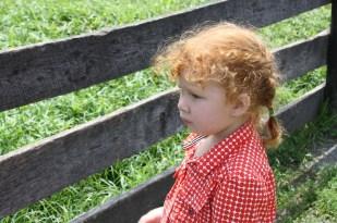 El ver a Cristina tan emocionada me transportó a mi infancia, en la que mis padres nos llevaban a visitar distintos ranchos de amigos.