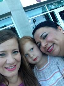 ¡Selfie afuera de la American Airlines Arena!