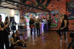 En el gimnasio nos dieron una demostración con el maquillaje de Urban Decay.