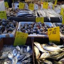 Las pescaderías chinas, es otro de los lugares en los que puedo pasar horas viendo a los cangrejos, a las langostas y camarones aún con vida.
