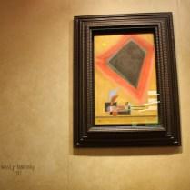 La galería también traía esta obra de Kandinsky.