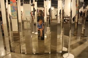 Más espejos...