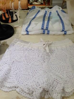 En Miami unos shorts de crochet blanco se pueden llevar prácticamente en cualquier ocasión.