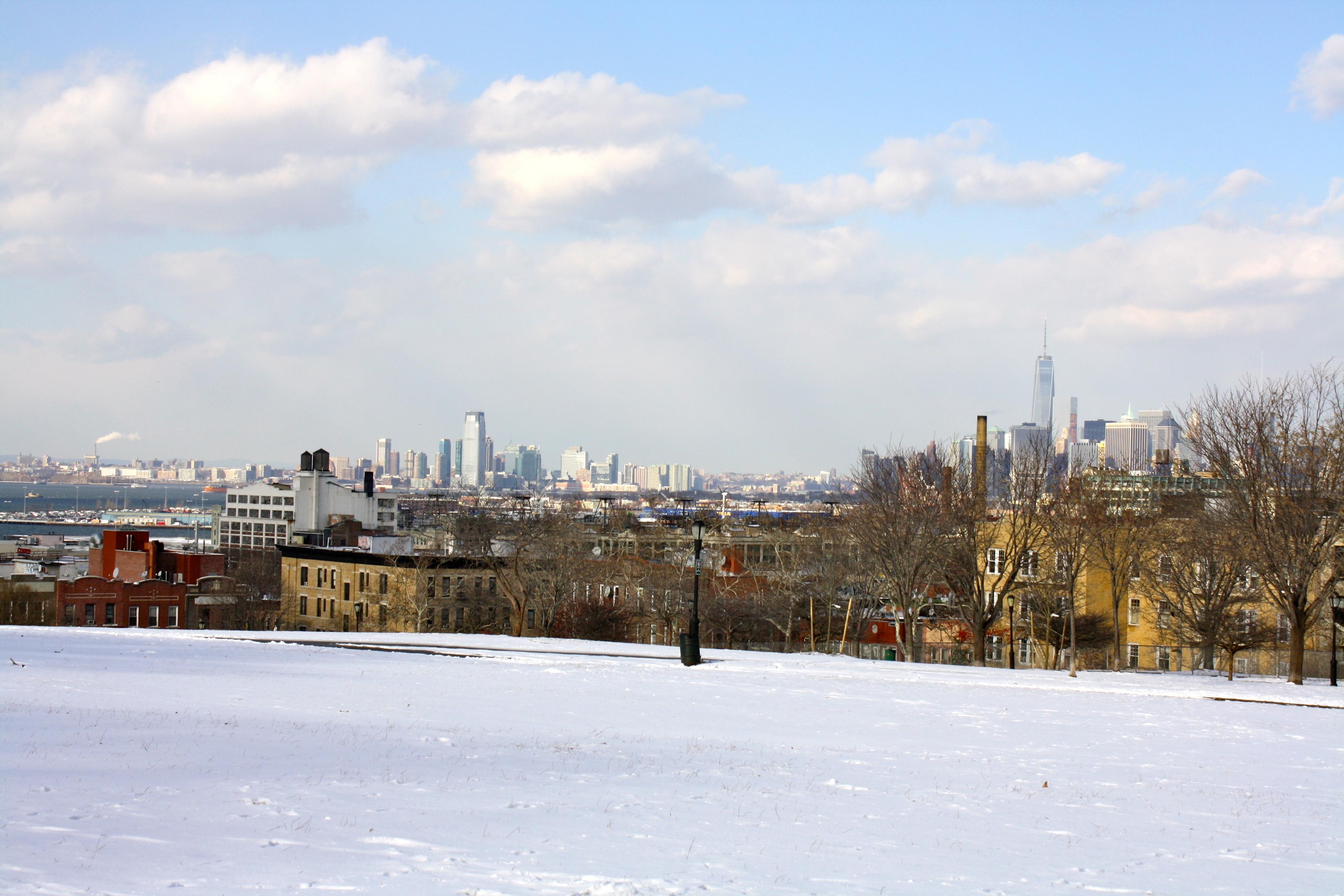 Vista a Manhattan desde Sunset Park.